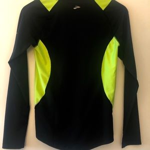 Dry-fit long sleeve shirt by brooks